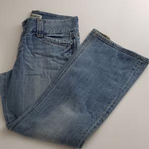 GAP Curvy Low Rise Boot Cut Jeans